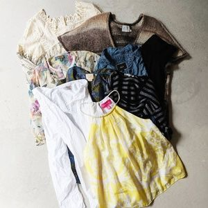 Reseller Box Lot 9 Tops Anthro Rails Everlane Etc.